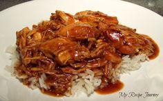 Bourbon Street Crack Chicken (Crock Pot Style)