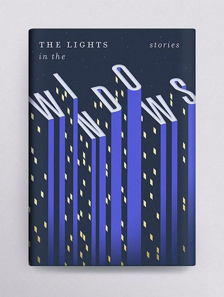SO clever, and the minimal use of color is beautiful. Another book jacket that…