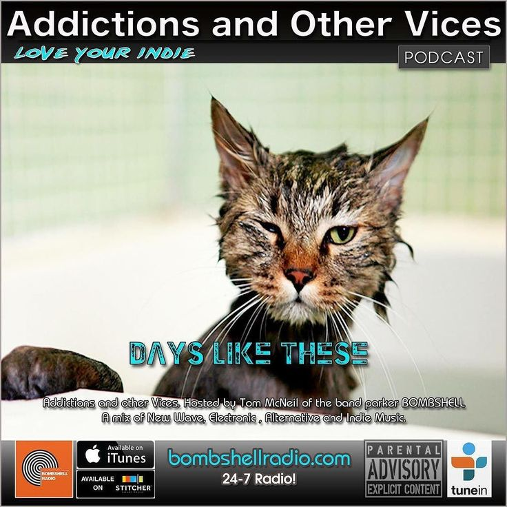 New Indie finds Bombshell Radio Tracks of the Day A few favorites Just Another Menace Radio Artists featured this week and if we have to fight let's make it a clean fight. This is Addictions and Other Vices 386- Days Like These!! I hope you enjoy!  Tuesday 8am-10am EST and 3pm-5pm Repeats Wednesday and Thursday  If you want to keep up with Bombshell Radio join our FB feed. And be sure to subscribe on ITunes and Stitcher to listen to our previous  shows.  Bombshell Radio and Addictions and…