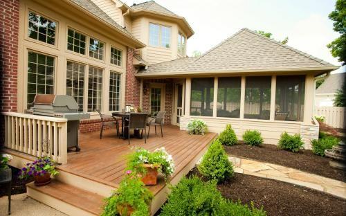 68 best detached garage images on pinterest driveway for Detached sunroom