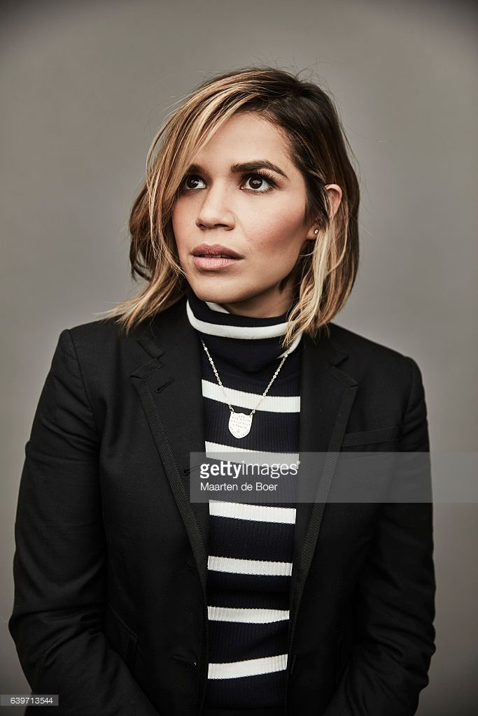 America Ferrera from the series 'Gente-Fied' poses for a portrait at the 2017 Sundance Film Festival Getty Images Portrait Studio presented by DIRECTV on January 22, 2017 in Park City, Utah.