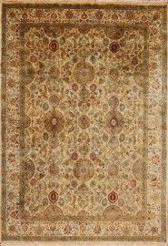 Crystal Sand Ivory Golden Age Area Rug