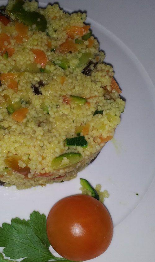 Cuscus de verduras con Thermomix