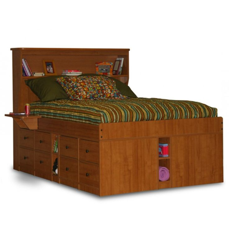 King captain bed designs | king size captains bed with 8 drawers...