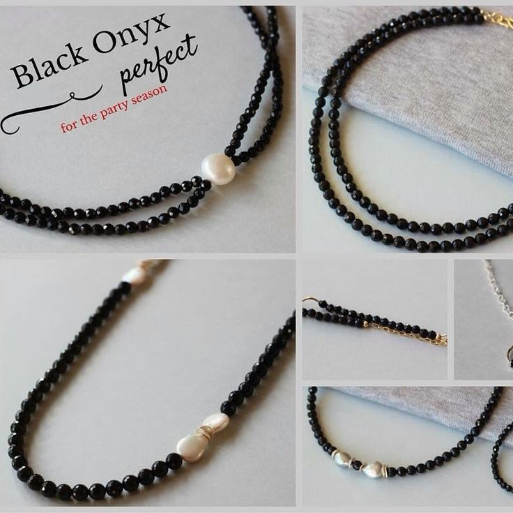 Black Onyx is the choice for this year's party season