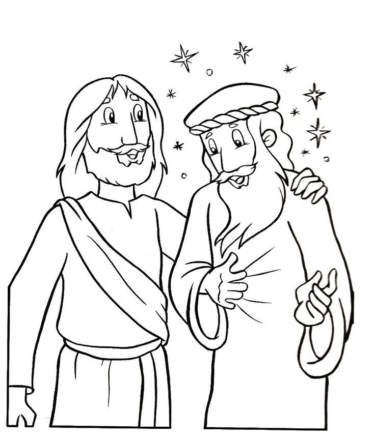 jesus raises lazarus coloring page - 45 best lazarus images on pinterest sunday school crafts