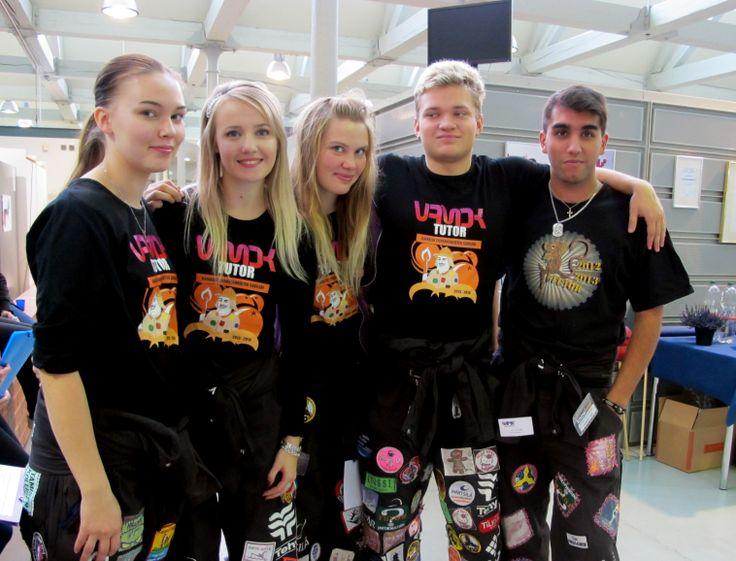 VAMK engineering students in Technobothnia research and teaching laboratory, Vaasa.
