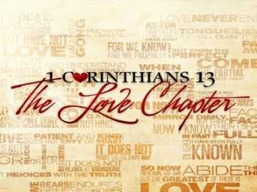 1 Corinthians 13 ~ Love was so important to God ~ He wrote a chapter about it for us ~ Access-Jesus.com ❤