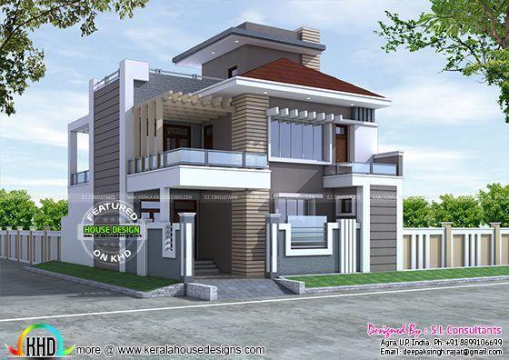 New decorative contemporary home