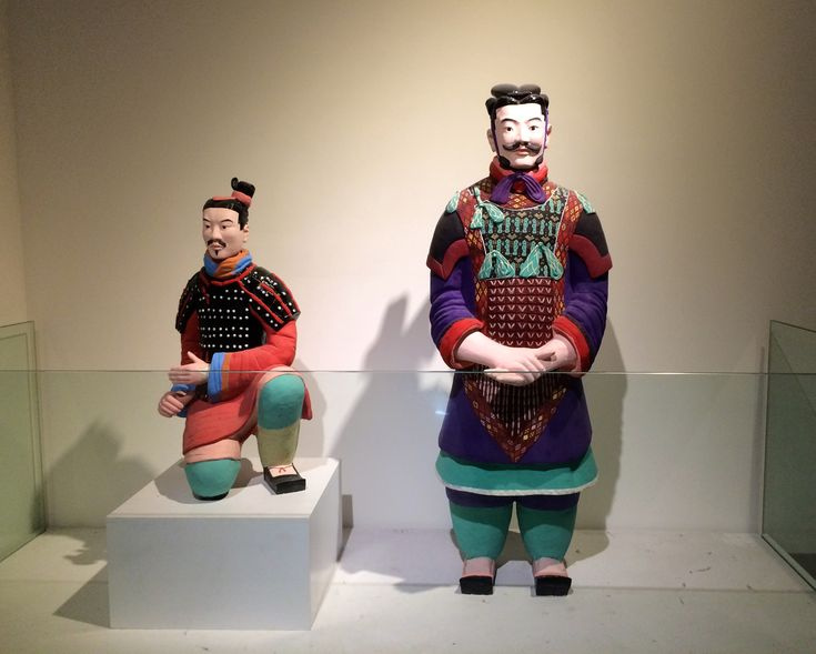 Recreated_colored_terracotta_warriors.jpg (JPEG Image, 3056 × 2448 pixels)