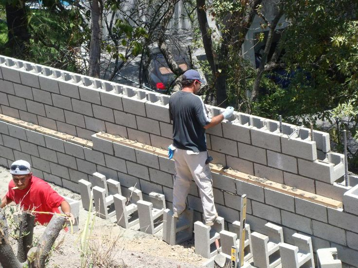 35 best images about Retaining Wall on Pinterest Cinder