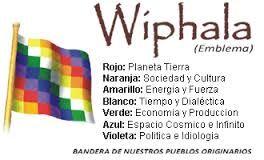 Bandera Wiphala de los Pueblos Originarios