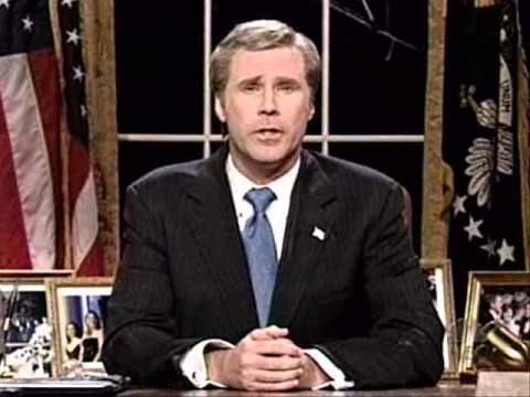 satire essay george bush Free essay: in the wake of 9/11, president george w bush provided strong and  uniting leadership he led the country strongly and gave the morning nation.