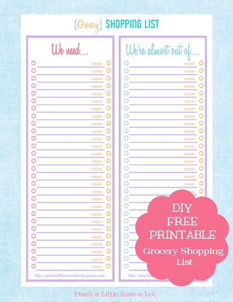 Best 25+ Printable shopping list ideas on Pinterest Grocery list - shopping lists