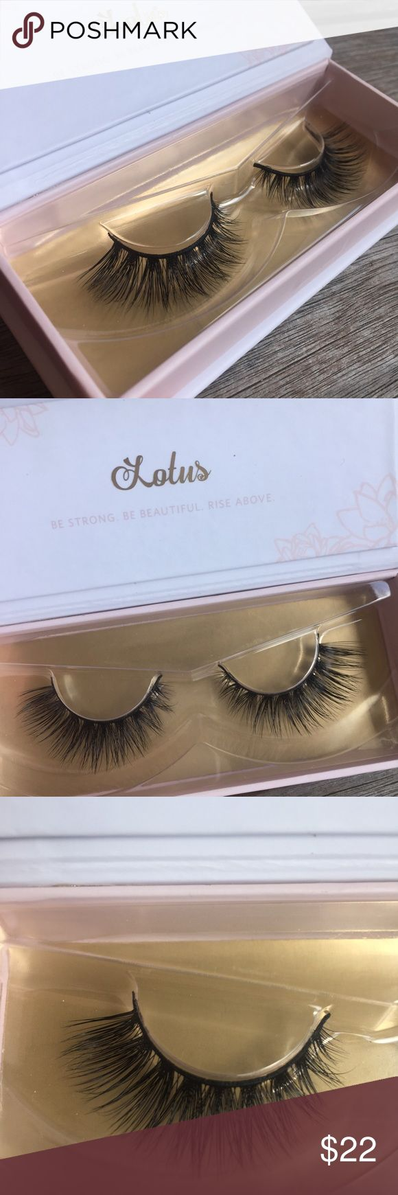 Lilly lashes Beautiful lashes by the brand lotus lashes similar to Lilly lashes, medium volume number 45. Long and 100% mink lashes perfect for everyday or special occasions. Retail price shown in the fourth pic please no lowball offers you will be blocked. Thank you Anastasia Beverly Hills Makeup False Eyelashes
