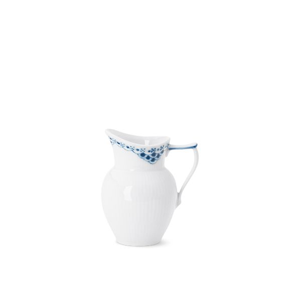 Princess Cream jug 17 cl eller White Fluted Half Lace Cream Jug 17 cl Ønsket er opfyldt:-)