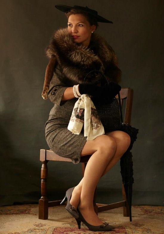 Goodwood Revival 2012: my top 20 best dressed #vintage #fashion