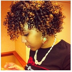 33 best Straw curls images on Pinterest | Plaits, Natural hair and ...