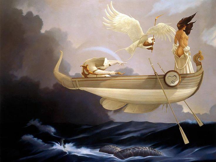Michael Parkes - Page 3 884b71ce51f113124dbe4b6290fb79e6--magic-realism-art-paintings