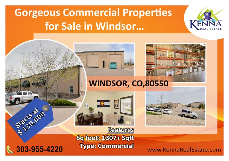 Gorgeous Commercial Properties for Sale in Windsor… www.KennaRealEstate.com #Commercial, #Property, #Sale