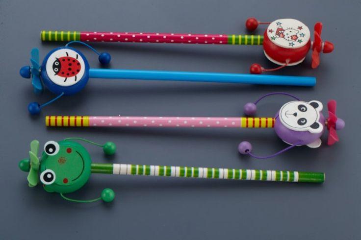 Διακοσμητικό για μπομπονιέρες βάπτισης μολύβι με παιχνιδάκι