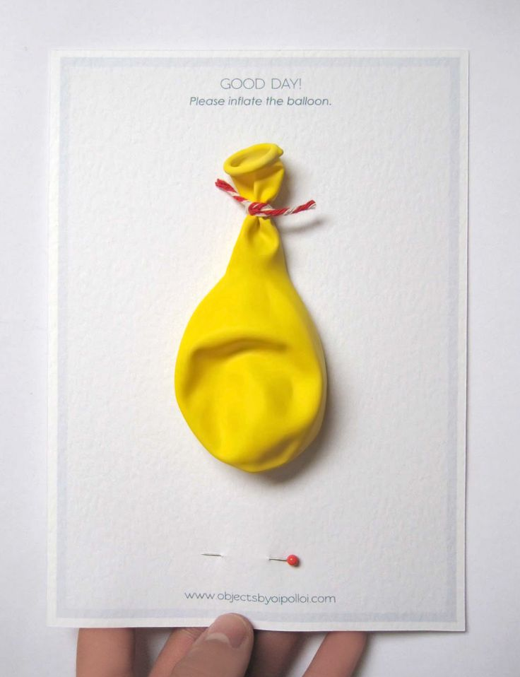 Balloon Invitation: Inflate balloon, give it a pop and get all the details.