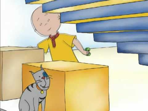 Caillou Videos Channel - Caillou Magnet Madness - YouTube