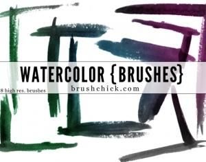 http://www.brushlovers.com/photoshop-brush/watercolor-corner.html