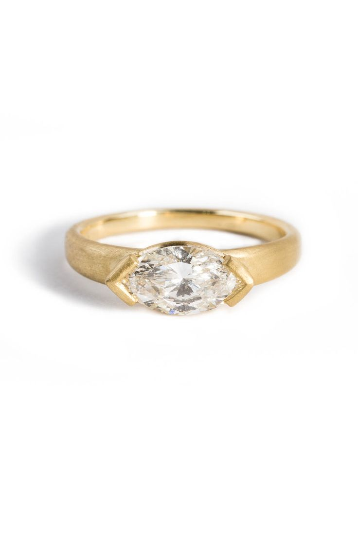 Personalized Nikko With Heirloom Diamond In 18kt Yellow Gold