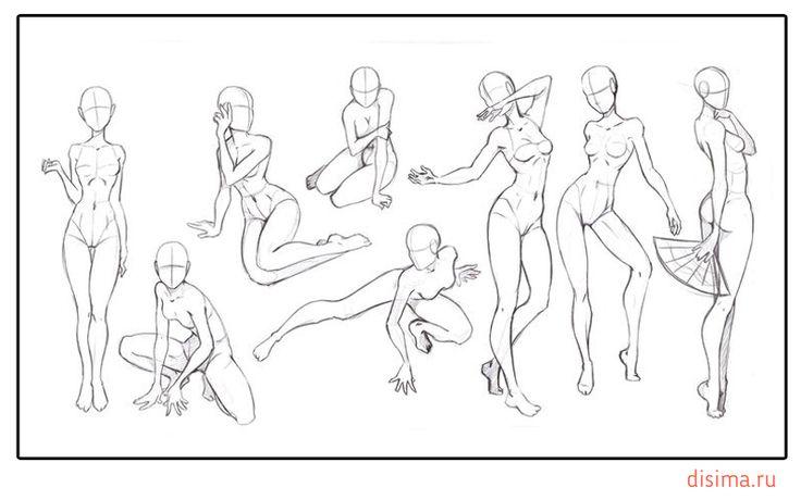 Как нарисовать сексуальную девушку карандашом  Рисовать