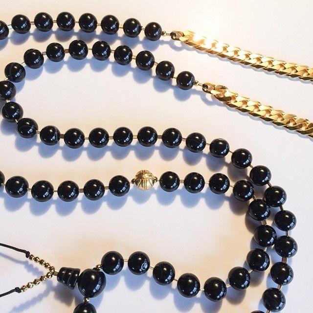 Astrid Andersen x Black Dakini SS15 Jewelry collection #astridandersen #astridandersenss15 #aaxbdjewlery #blackdakini #cubanlink #londonfash...