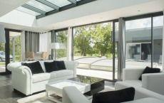 Veranda Grandeur Nature toit plat puits de lumière mono pente M6 D&Co