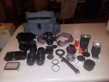 Vintage Nikon F2 Camera with Many accessories MADE IN JAPAN Body #7662794