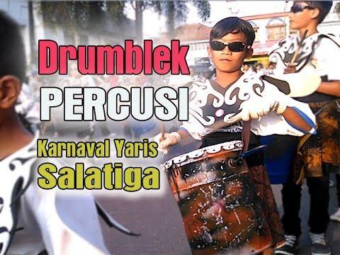 Drumblek PERCUSI Salatiga di Karnaval YARIS Salatiga