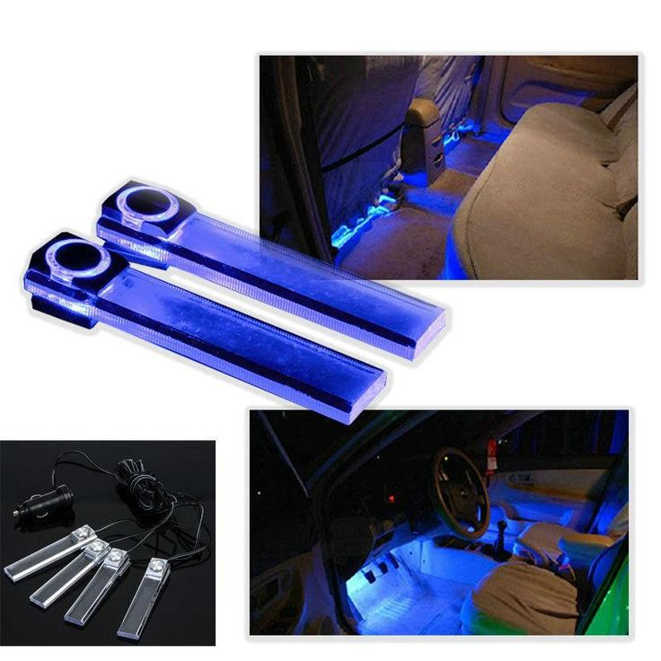 4 in 1 Car LED Interior Ambient Lighting Atmosphere within the Automotive Supplies Decorative Lights Online with $5.35/Piece on Egomall's Store | DHgate.com