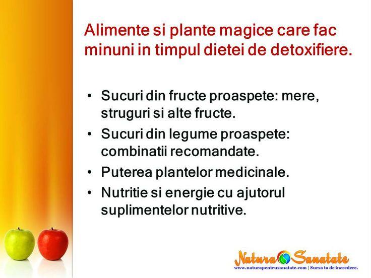Alimente si plante #magice care fac minuni in timpul dietei de #detoxifiere prin #post.--> http://naturapentrusanatate.com/plante-magice-si-extracte-care-fac-minuni-in-cura-de-detoxifiere-prin-post/