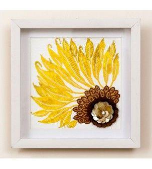 Sunflower Wall Frame