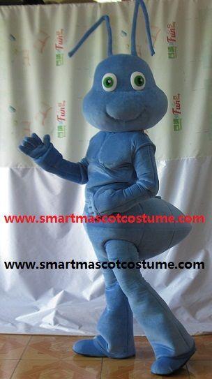 Adult Bule Ant Mascot Costume