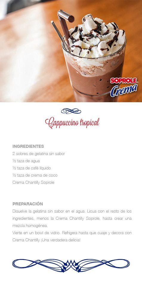Cappuccino Tropical