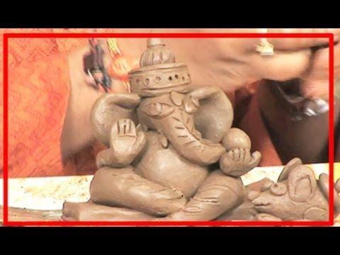 Creative Corner | How to make Eco Friendly Ganesh Idols with Clay