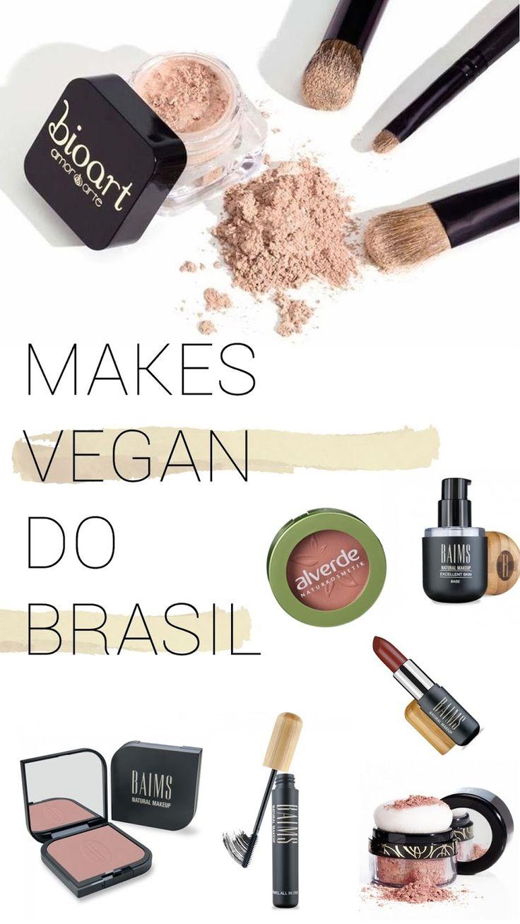 Maquaigem Vegana Produzida no Brasil. maquiagem brasileira e vegana, cruelty free, vegan, make up, dona organica, bioart, baims, maquiagem produzida no brasil,