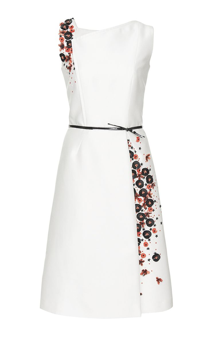 Mikado Cocktail Dress - Carolina Herrera Resort 2016 - Preorder now on Moda Operandi