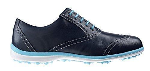Oferta: 130€ Dto: -12%. Comprar Ofertas de FootJoy Casual Collection - Zapatos de golf para mujer, color azul marino / azul cian, talla 38.5 (W) barato. ¡Mira las ofertas!