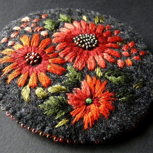 brosza bukiet (sprzedawca: agat.handmade), do kupienia w DecoBazaar.com
