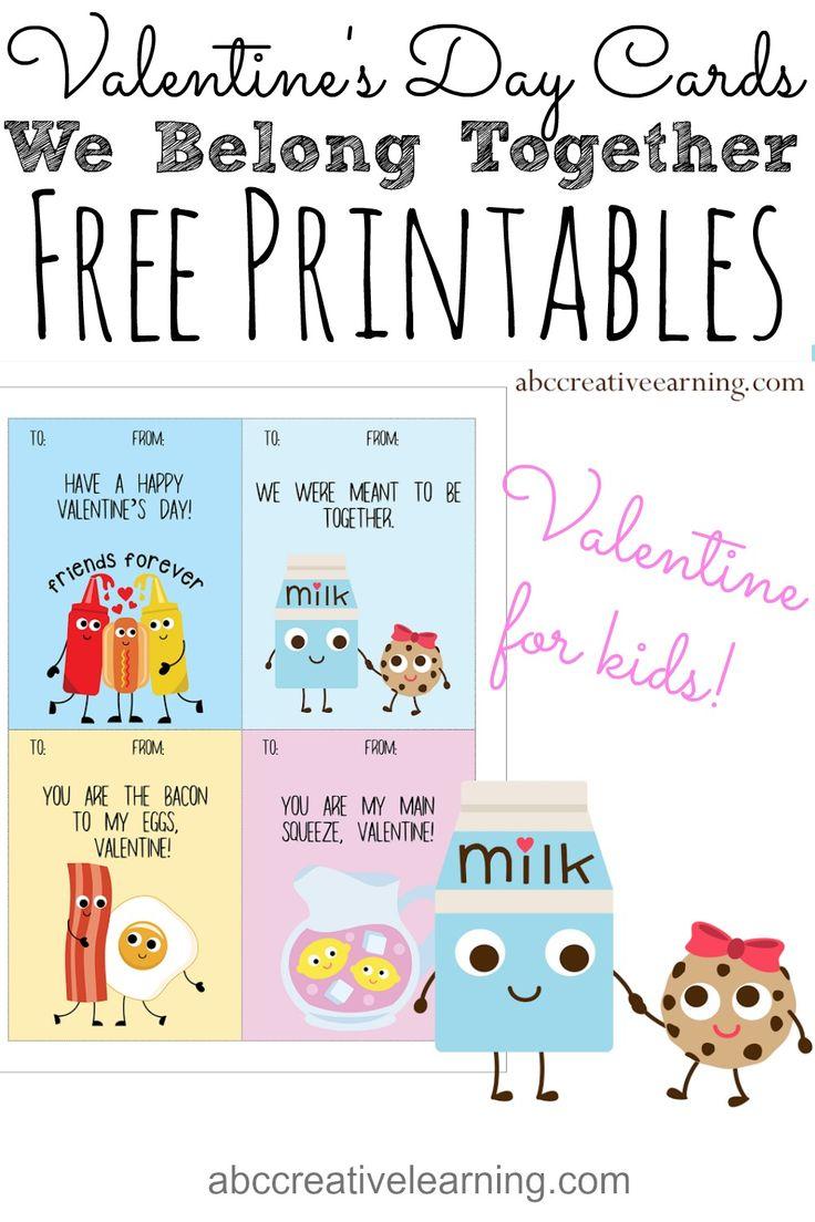 17 best ideas about Free Valentine Cards – Valentine Card Printables Free