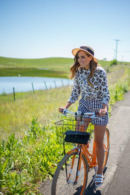 Spring Bike Ride In Napa - Gal Meets Glam