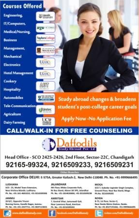 WITHOUT IELTS STUDY IN NEW ZEALAND .FOR MORE DETAILS WIST OUR WEBSITE-http://www.daffodilsstudy.com/ CALL NOW-9216509233,9216599324 SEC-22C DAFFODILS STUDY ABROAD SECOND FLOOR SCO-2425-2426 CHANDIGARH