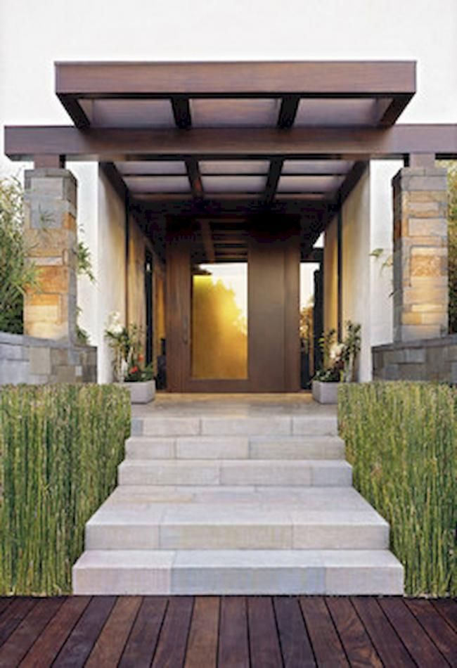 80 Exterior House Porch Inspirations With Stone Columns Modern