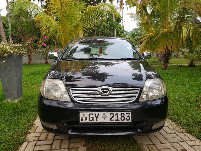 Car Toyota COROLLA 121 G GRADE For Sale Sri lanka. 4TH OWNER.  FABRIC BAIGE INTERIOR.  REAR HEAD REST.  ARM REST. TOUCH AC. RPM. NEW TYRES WITH ALLOY WHEELS.  ORIGINAL BOOK WITH UP TO DATE CLEAR DOCUMENTS.  LEASING FACILITY CAN BE ARRANGED WITHIN 1DAY- RS 2100000/=.  CAR CAN BE INSPECT AT  VTC CAR SALE. 🚘🚘🚘 GALLE RD.  WALGAMA.  MATARA.  OPENING HOURS. 🎹🎹🎹 8.30AM--6.30PM.  CALL BETWEEN. ☎️☎️☎️ 8.00AM--8.00PM.  CONTACT.  071-3636703-CHATHURA. 😍😍😍 071-8034306-KAVINDU. 😘😘😘  ...