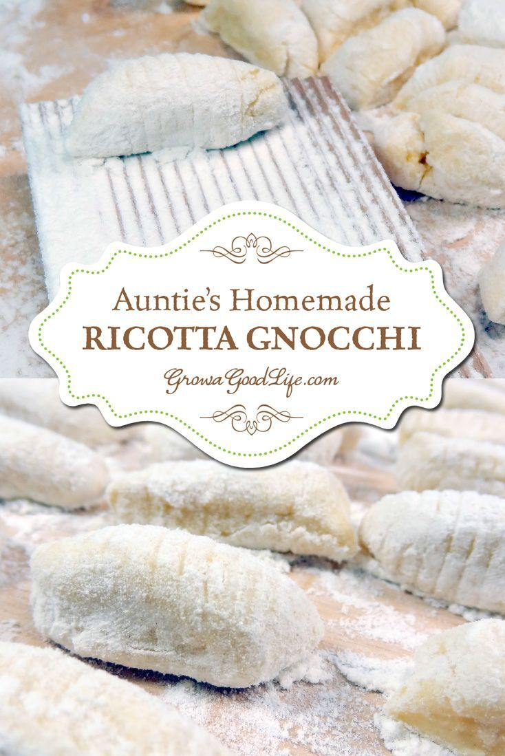 My grandmother and her sister came to the United States from Italy when they were children. Not surprisingly, Italian meals with homemade pasta and tomato sauce made from ingredients from our gardens were often served at our large Sunday dinners. Gnocchi was among my favorites. Although there was no official recipe, Auntie showed me how she made Ricotta Gnocchi. After careful observation and practice, I was able to nail down a basic recipe for a comfort food that brings me warm memories.